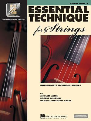 Essential Technique 2000 for Strings - Violin By Gillespie, Robert/ Tellejohn Hayes, Pamela/ Allen, Michael